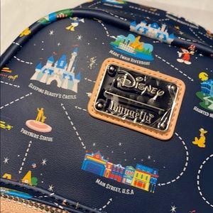 Disneyland 65th anniversary edition Loungefly bag